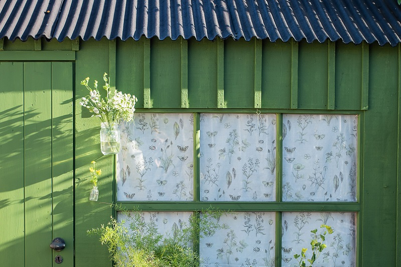 Crane Shed painted in Passiflora, Exterior Eggshell