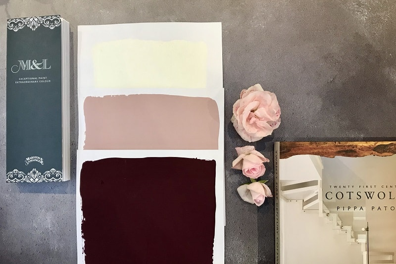 Zandra, Rose Pink, Paper White and roses on a flatlay