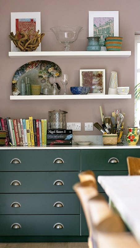 Corsican Green Cabinets