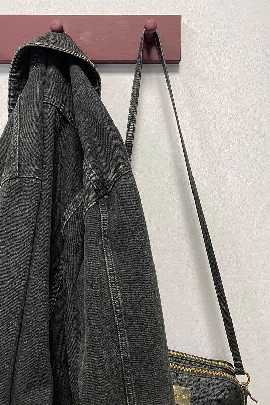 Painted coat hooks in Zandra